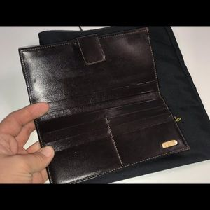 Fendi Bags - Authentic fendi zucca checkbook wallet clutch case